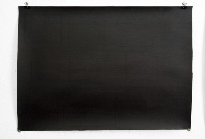 Burnt Moderns     h50cm x w70cm   Ink on paper    2014